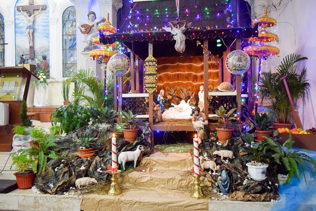 Kearifan Lokal Jadi Tema Ornamen Natal 2019 Di Gereja Santa Maria YTTN