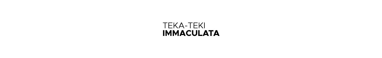 TEKA-TEKI IMMACULATA – JANUARI 2021